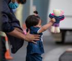 Repatriated Afghan child