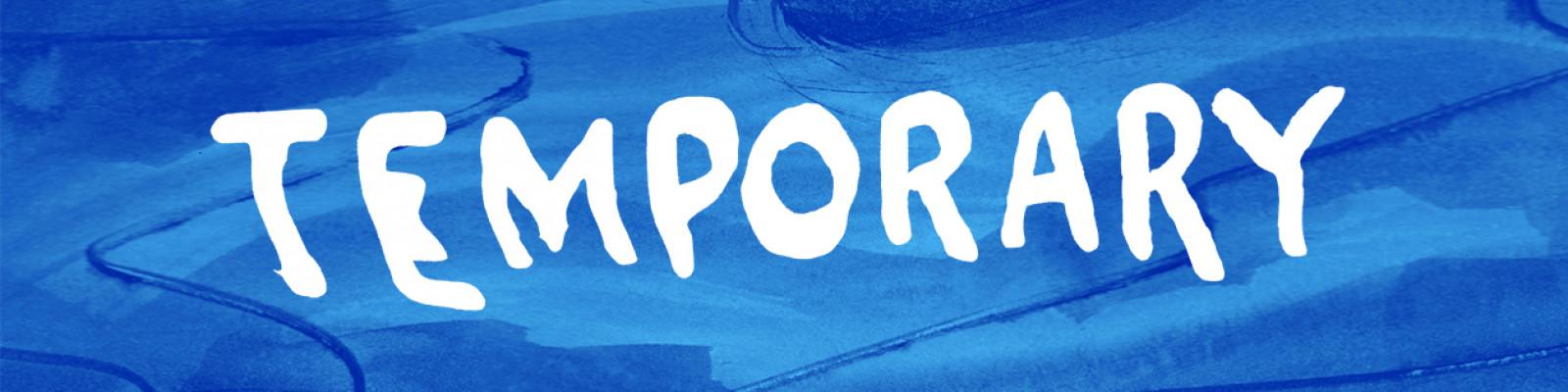 Temporary podcast logo