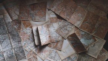 Scattered maps by Andrew Neel